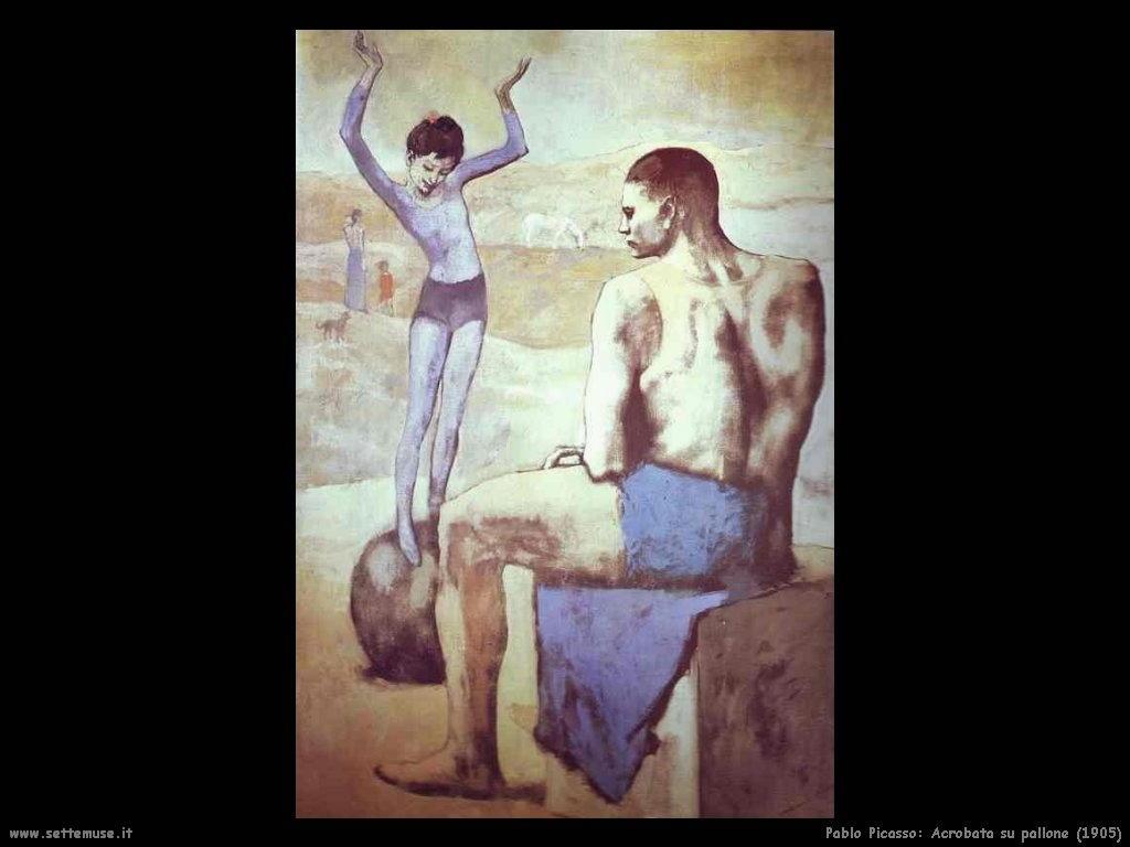 1905_pablo_picasso_acrobata_sul_pallone