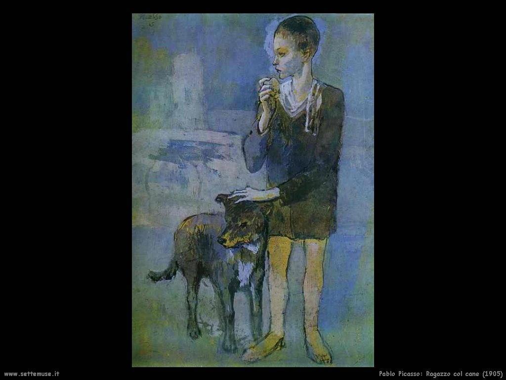 1905_pablo_picasso_ragazzo_col_cane
