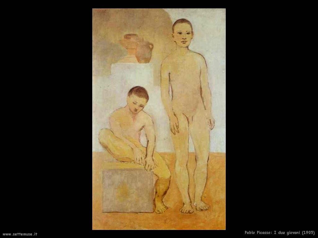 1905_pablo_picasso_due_giovani