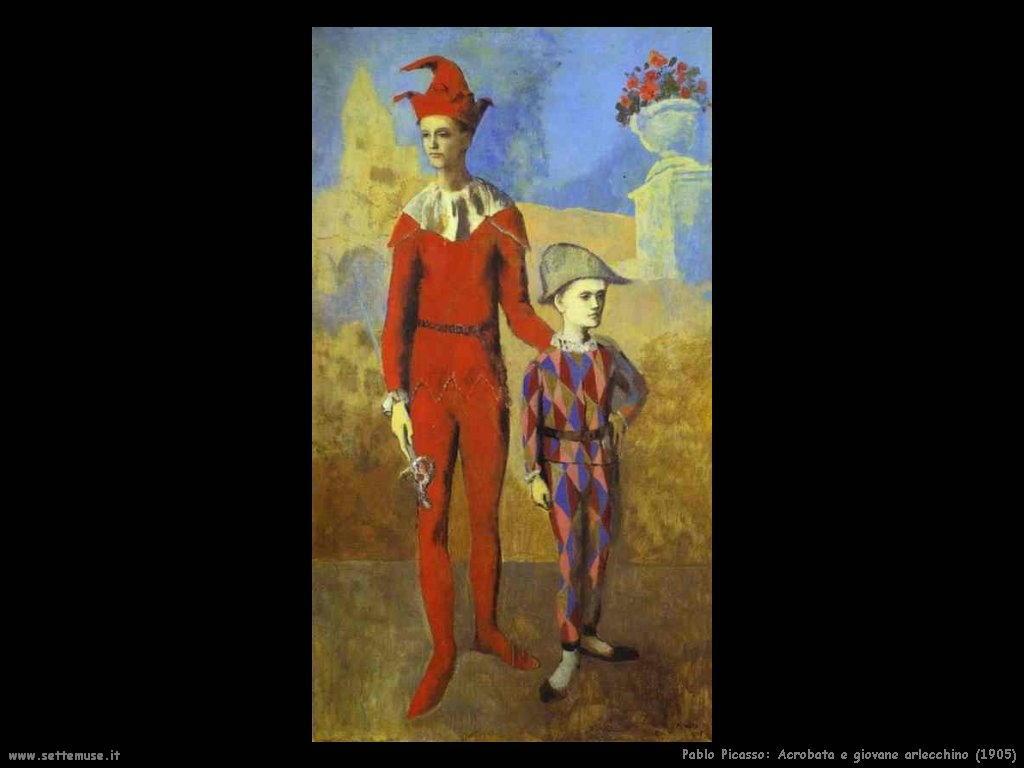 1905_pablo_picasso_acrobata_e_giovane_arlecchino