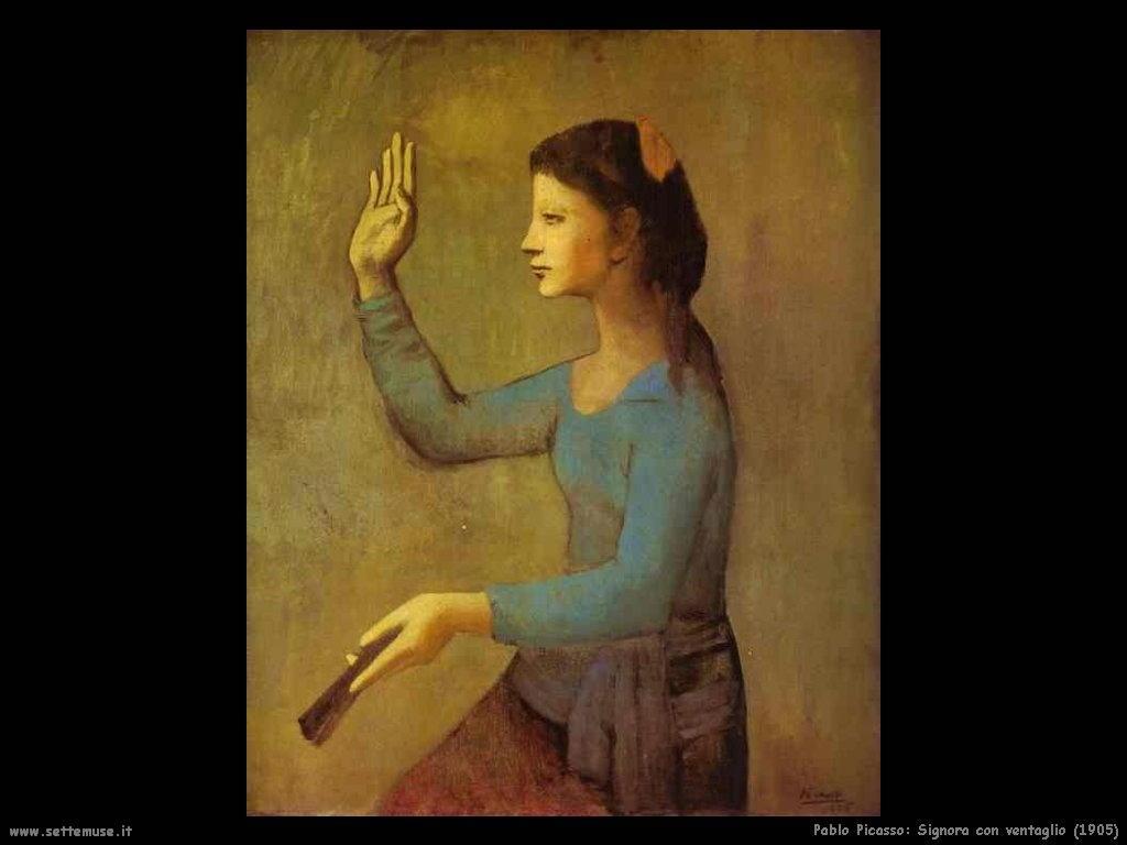 1905_pablo_picasso_signora_con_ventaglio