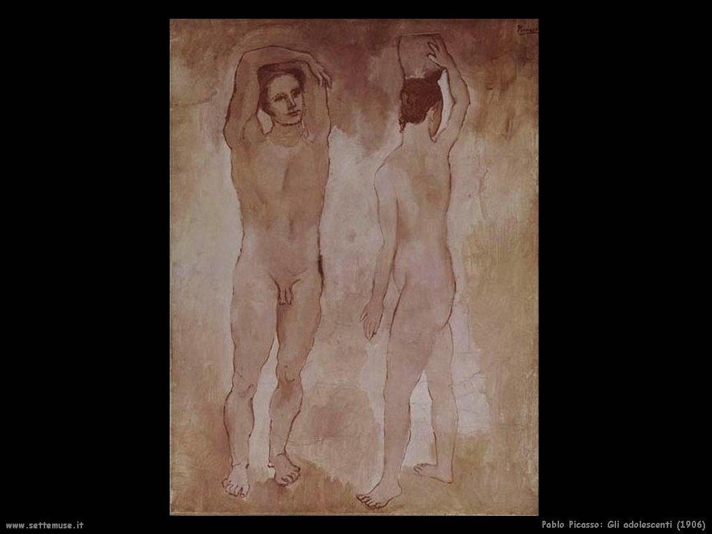 1906_pablo_picasso_gli_adolescenti