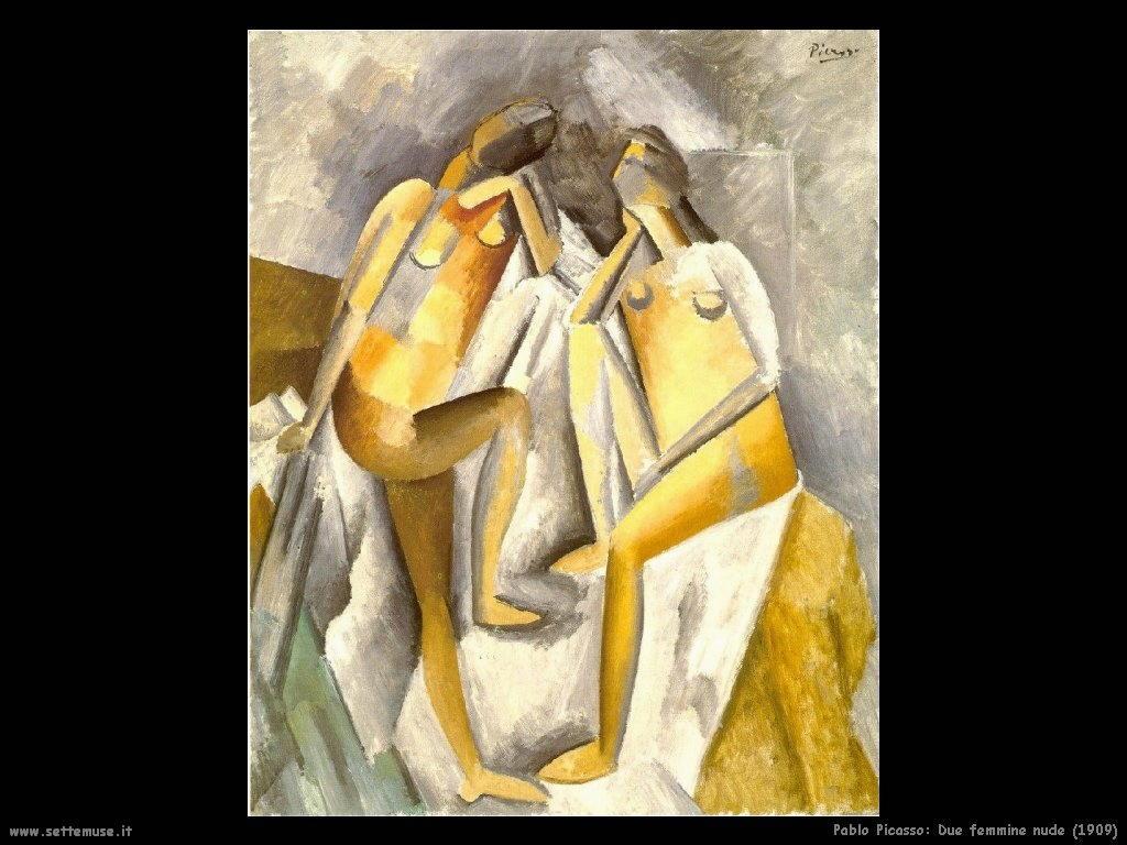 1909 due femmine nude