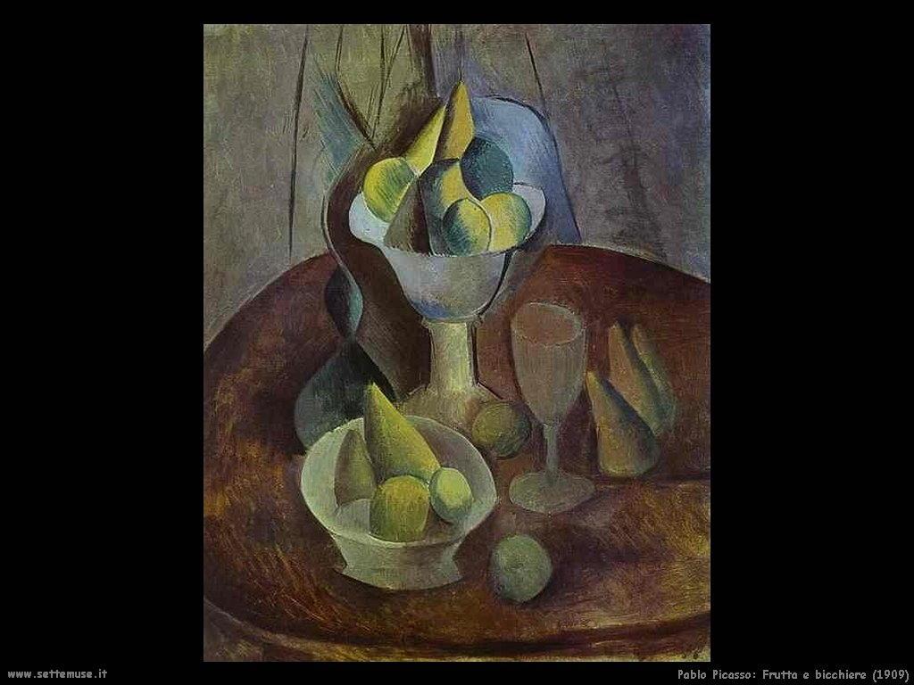 1909 frutta e bicchiere
