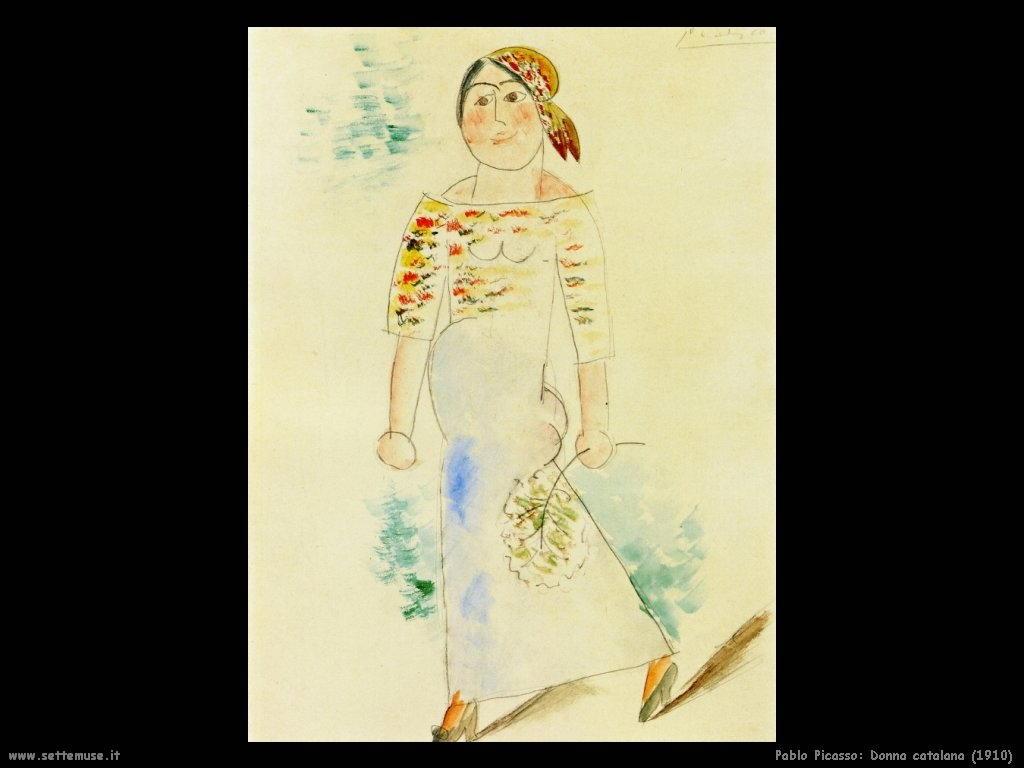 1910 donna catalana