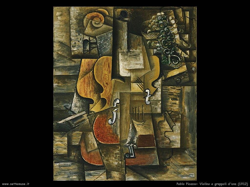 1912 violino e grappoli