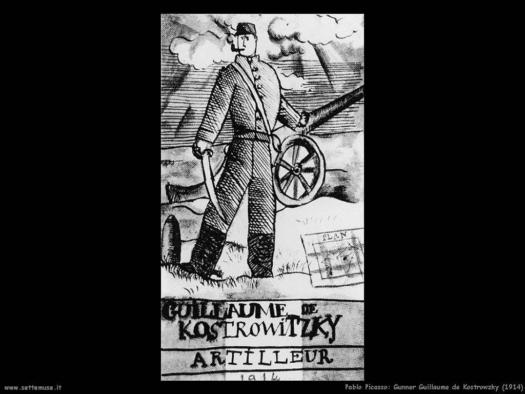 1914 gunner guillaume de kostrowitzky