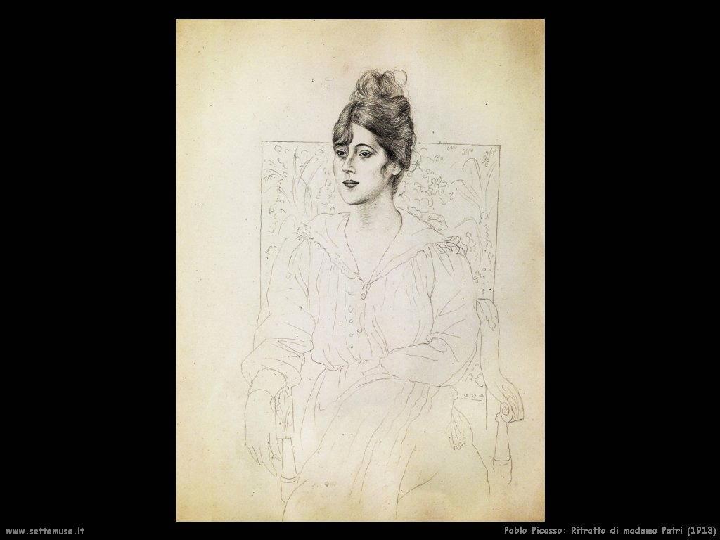 1918 ritratto di madame patri