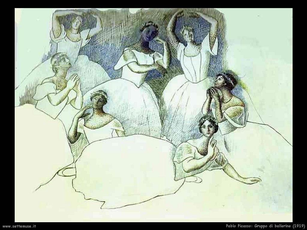 1919  gruppo di ballerine