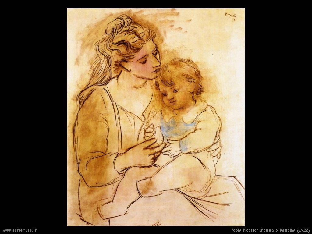 1922 mamma e bambino