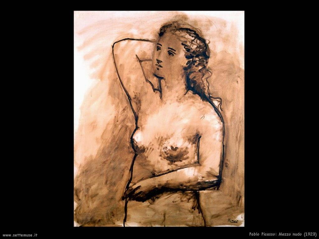 1923 mezzo nudo