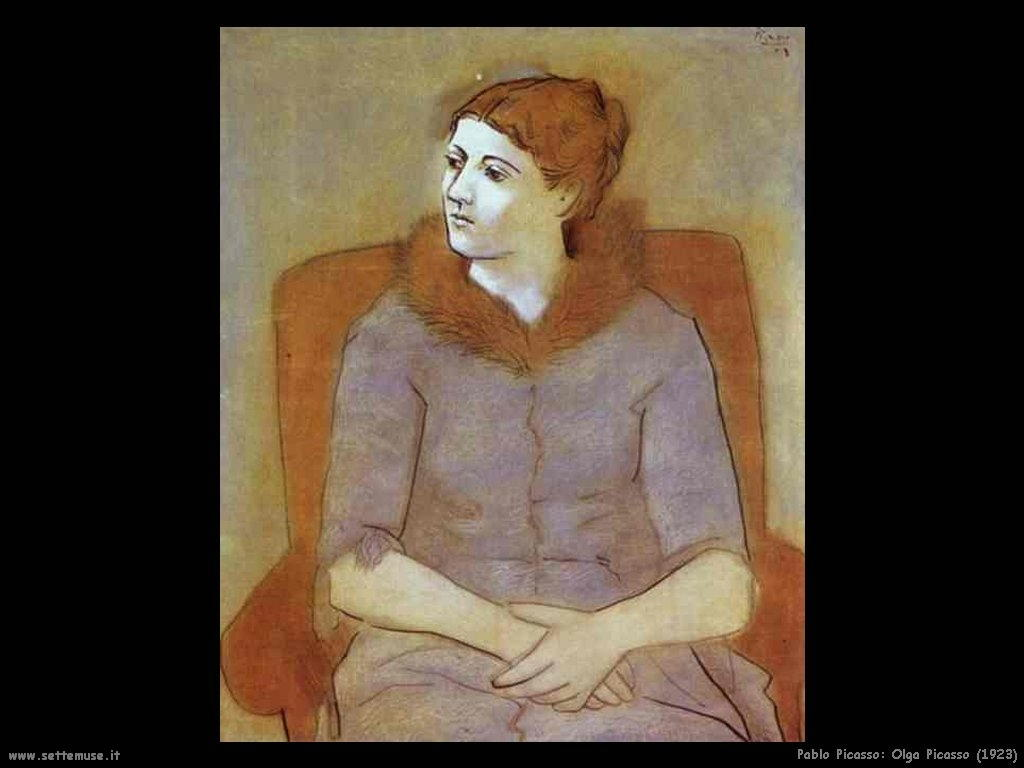 1923 mme olga picasso