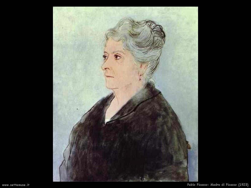 1923 madre di picasso