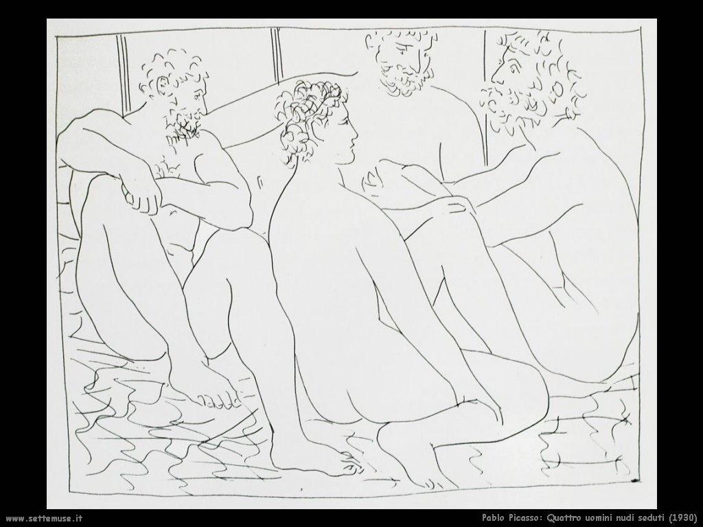 1930_pablo_picasso_quattro_uomini_nudi_seduti