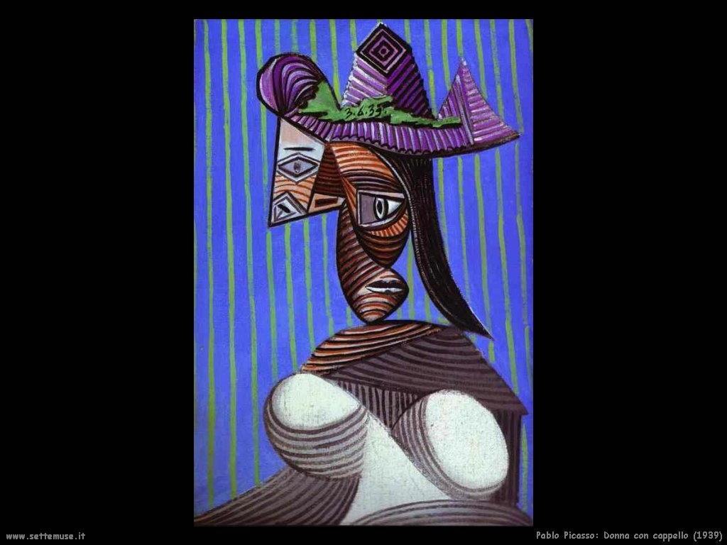1939_pablo_picasso_donna_con_cappello