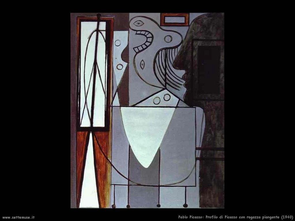 1940_pablo_picasso_profilo_di_picasso_con_ragazza_piangente