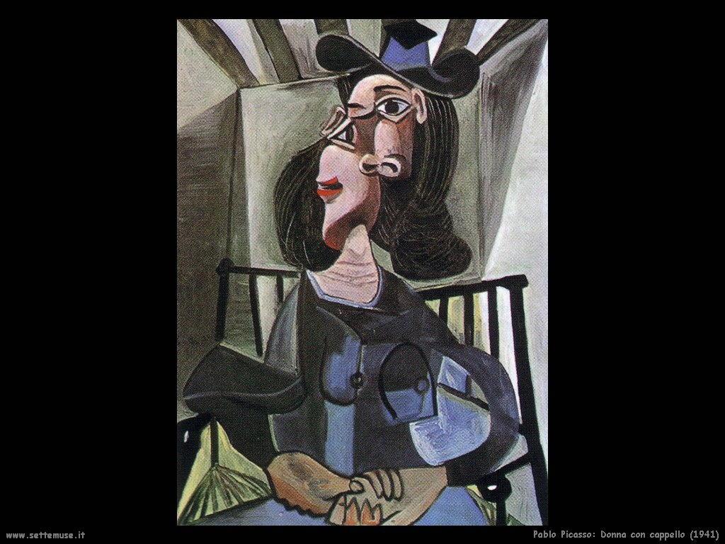 1941_pablo_picasso_donna_con_cappello