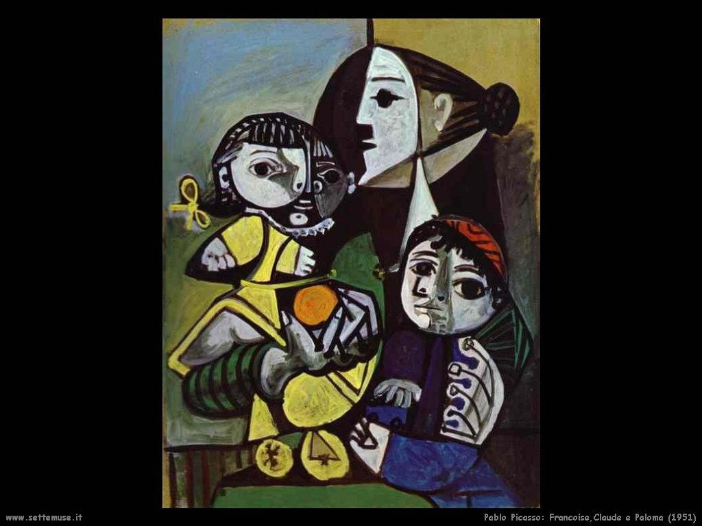 1951_pablo_picasso_francoise_claude_e_paloma
