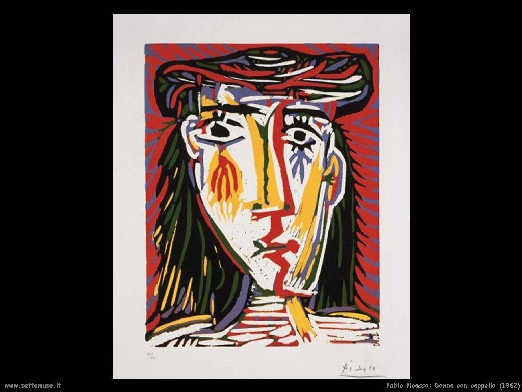 1962_pablo_picasso_donna_con_cappello
