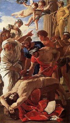 Dipinto di Nicolas Poussin