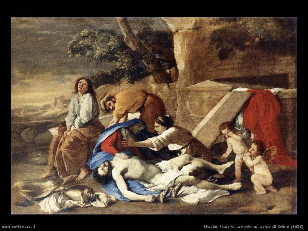 Nicolas Poussin_lamento_sul_corpo_di_cristo_1628