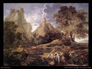 nicolas poussin paesaggio con polifemo 1648
