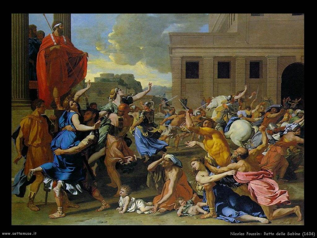Nicolas Poussin_ratto_delle_sabine_1636