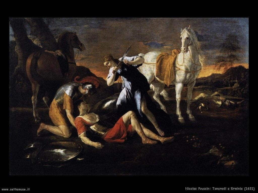 Nicolas Poussin_tancredi_ed_erminia_1631
