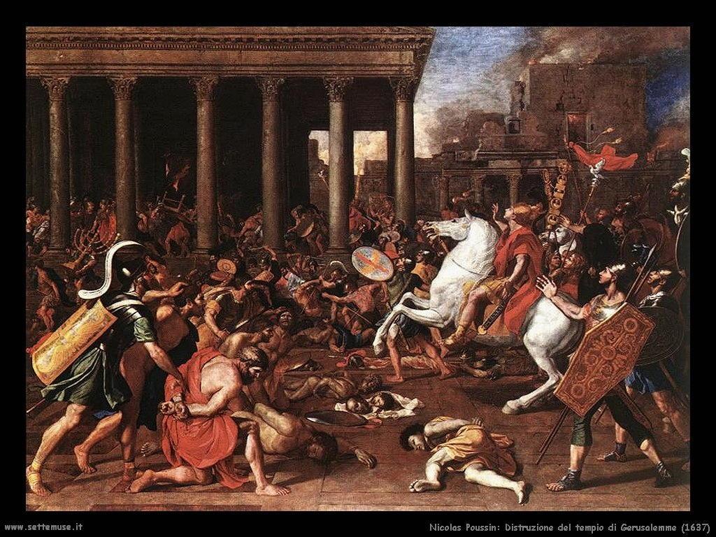 Nicolas Poussin_distruzione_del_tempio_di_gerusalemme_1637