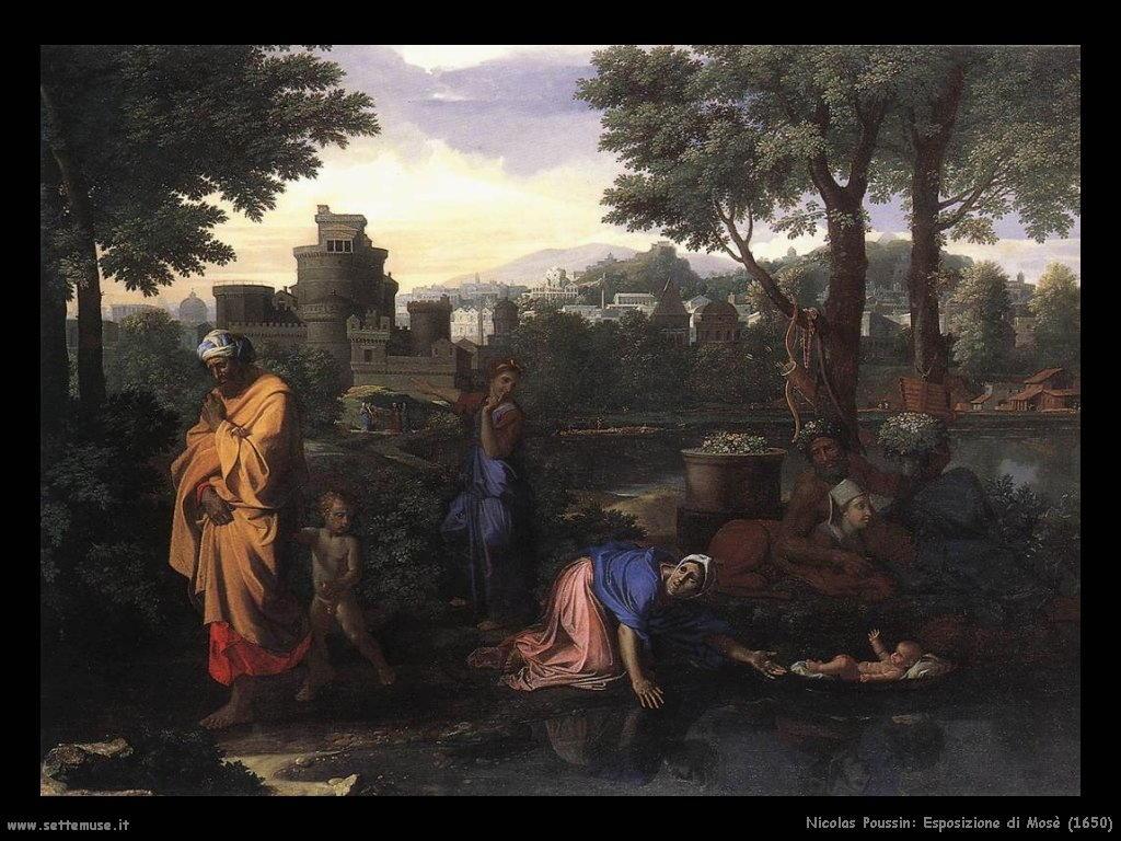 Nicolas Poussin_esposizione_di_mosè_1650