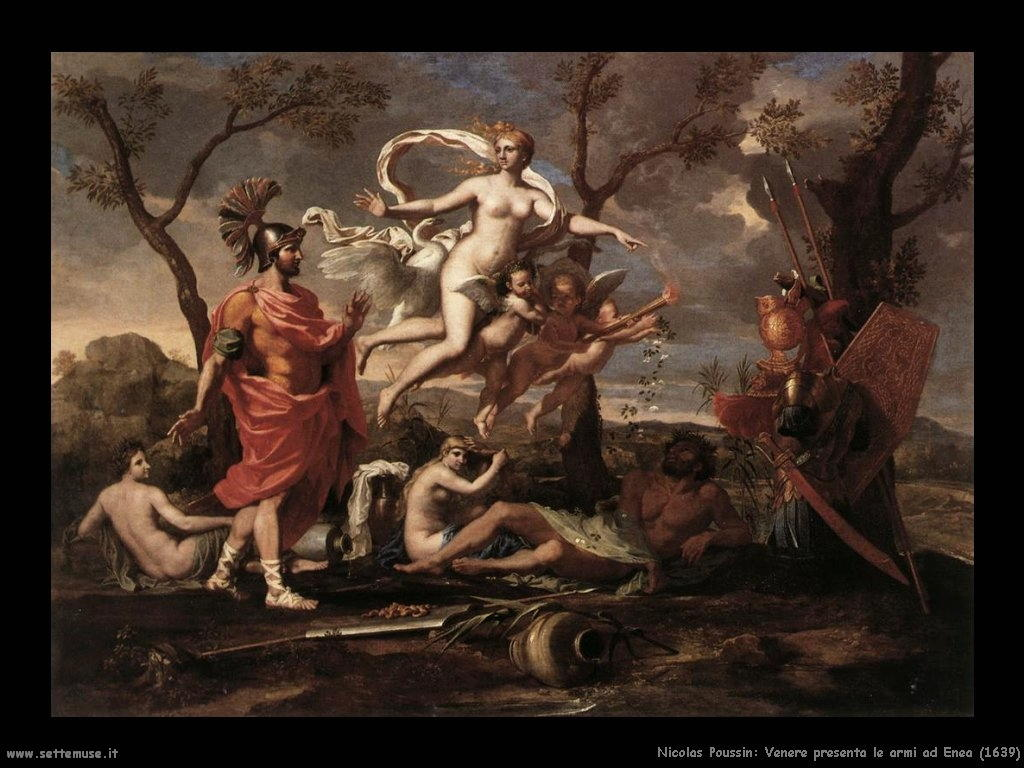 Nicolas Poussin_venere_presenta_le_armi_a_enea_1639