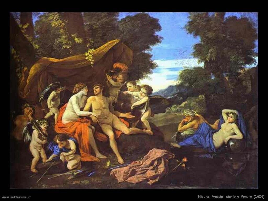 Nicolas Poussin_marte_e_venere_1626