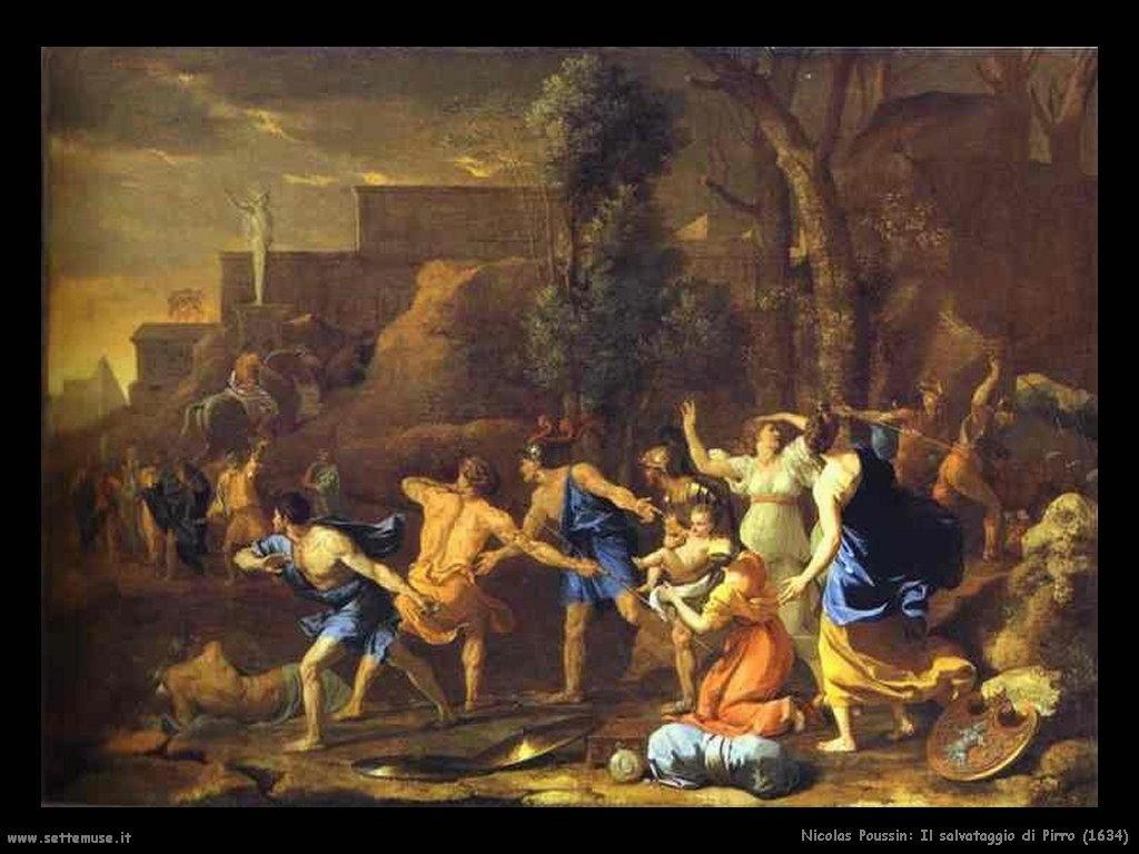 Nicolas Poussin_il_salvataggio_di_pirro_1634