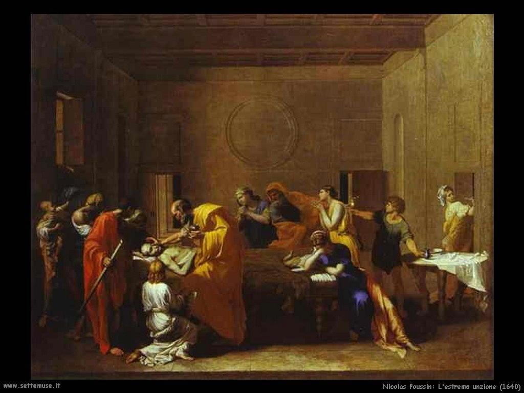 Nicolas Poussin_l_estrema_unzione_1640