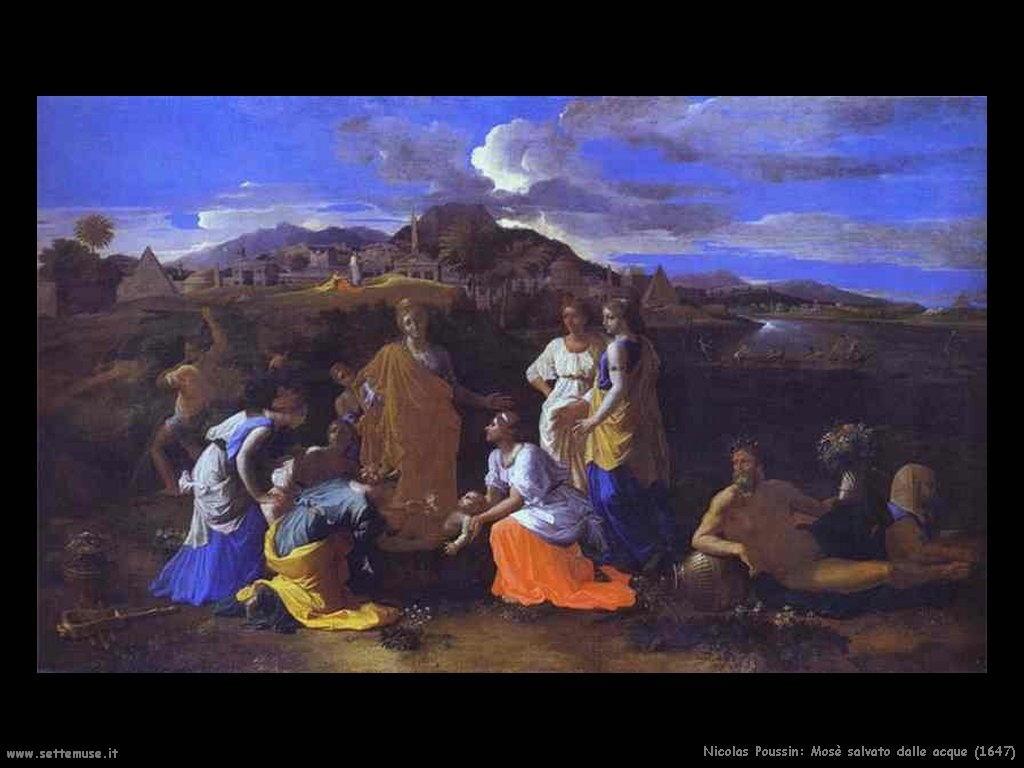 Nicolas Poussin_mosè_salvato_dalle_acque_1647