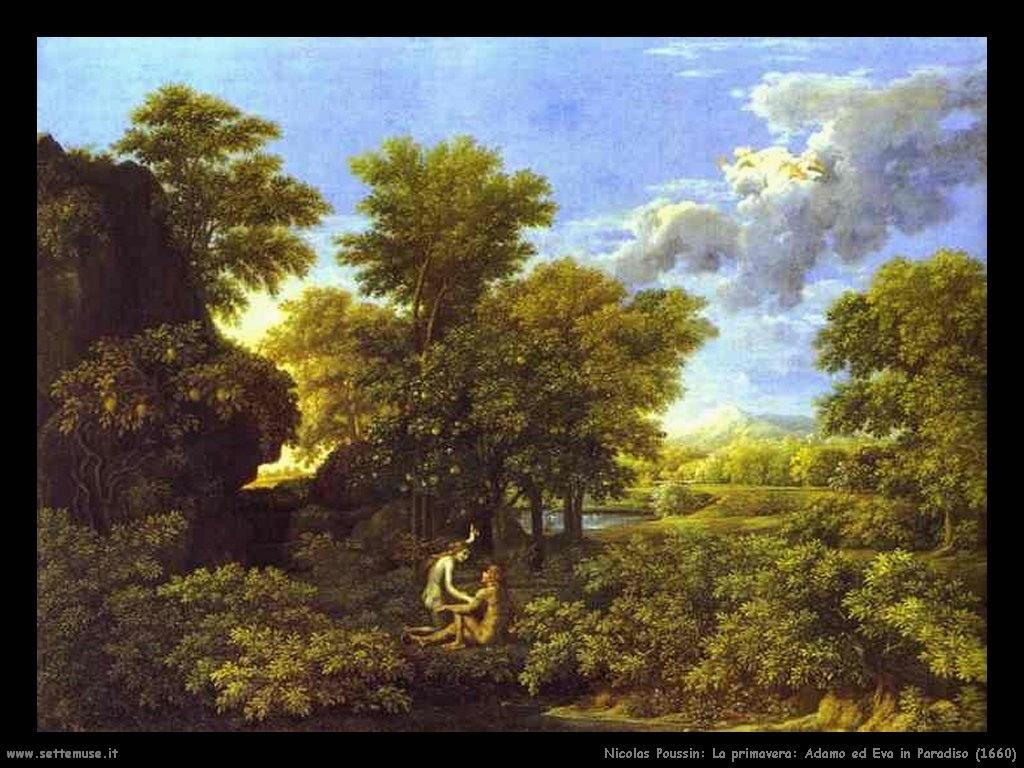 Nicolas Poussin_primavera_adamo_ed_eva_in_paradiso_1660