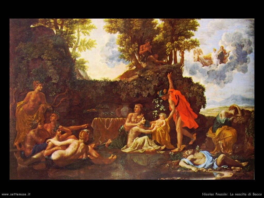 Nicolas Poussin_nascita_di_bacco