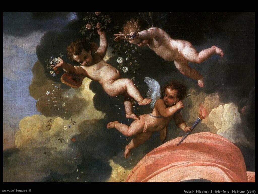 poussin nicolas Il trionfo di Nettuno (dett)
