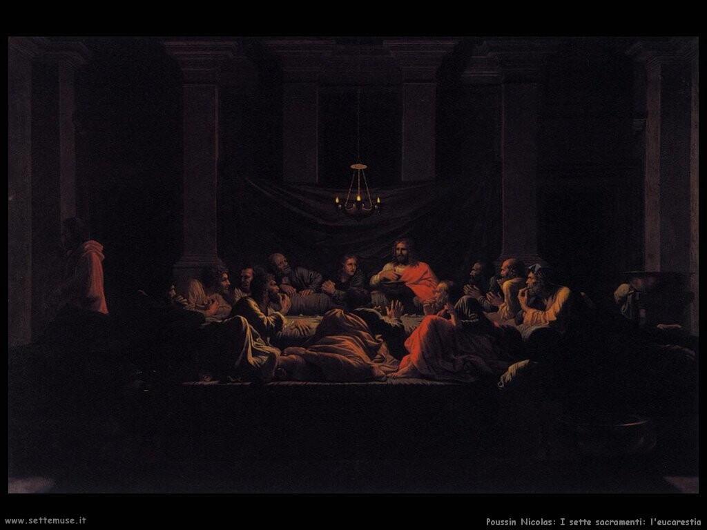poussin nicolas  I sette sacramenti: Eucarestia