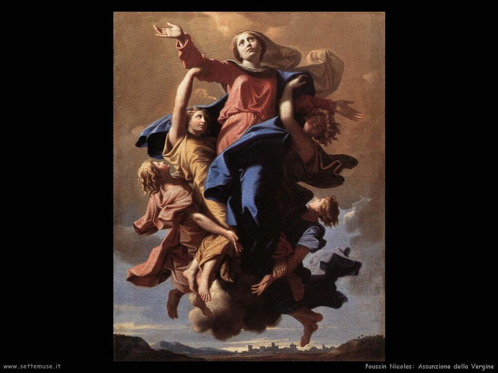poussin nicolas L'assunzione della Vergine
