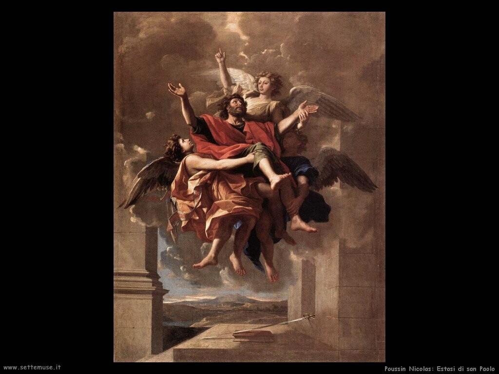 poussin nicolas   L'estasi di san Paolo