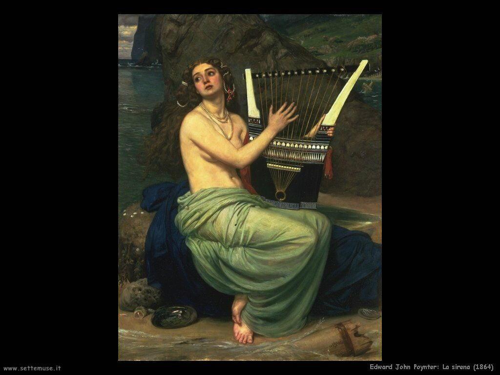 edward_john_poynter_la_sirena_1864