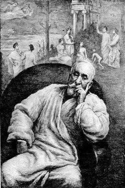 Ritratto di Pierre Puvis de Chavannes