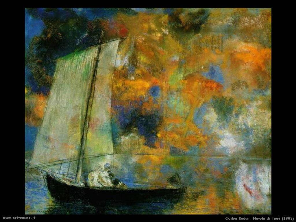 Odilon Redon_nuvola_di_fiori_1903