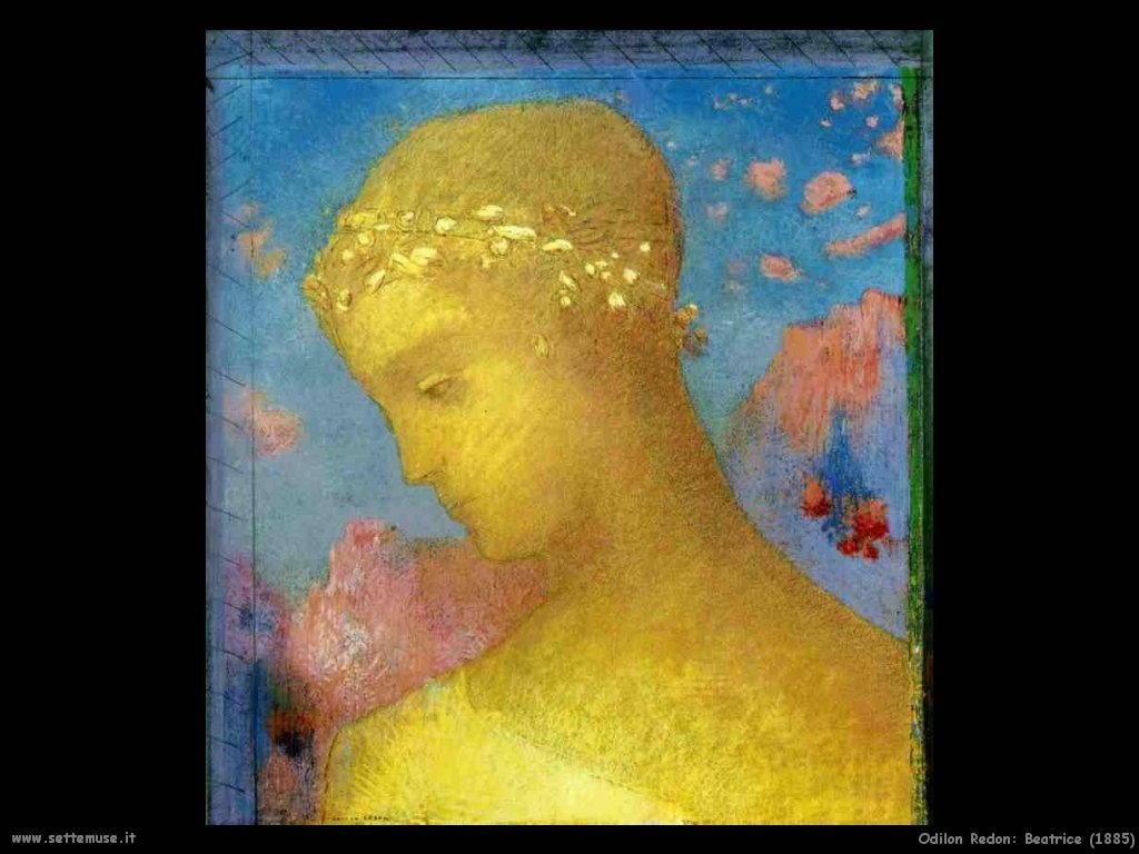 Odilon Redon_beatrice_1885