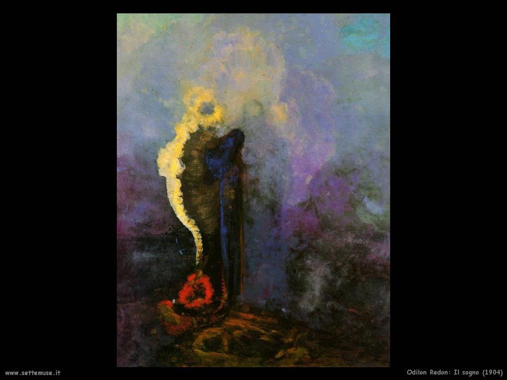 Odilon Redon_il_sogno_1904