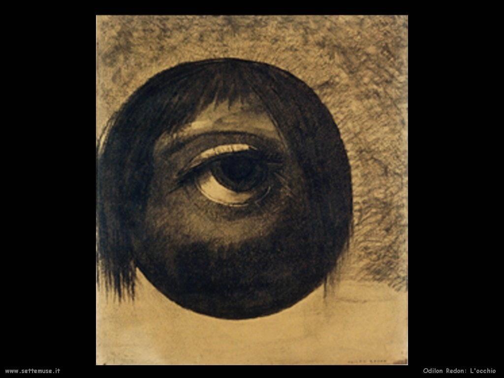 Odilon Redon_l_occhio