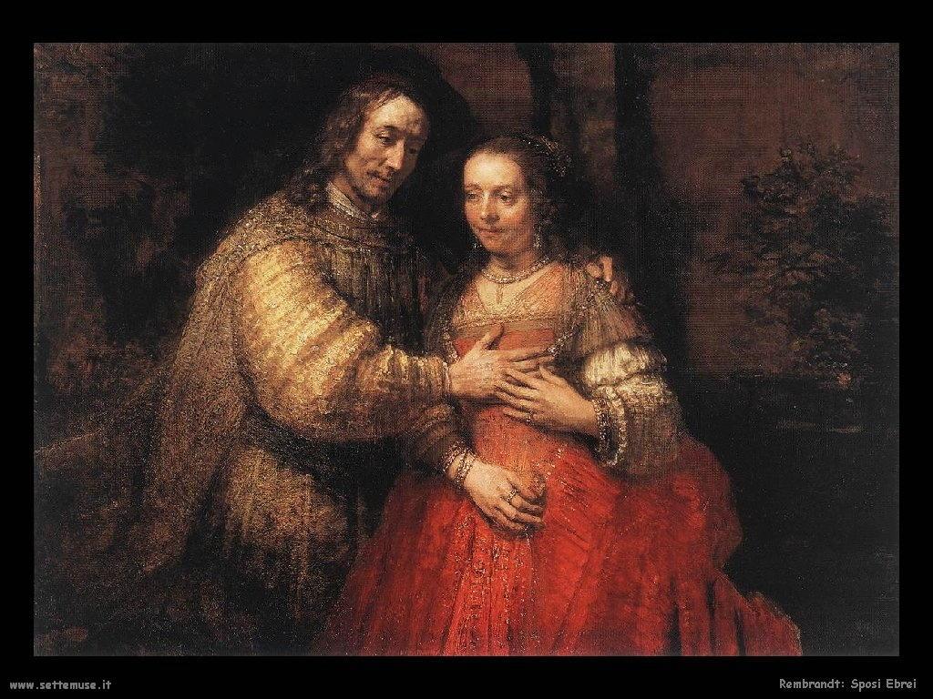 Rembrandt _sposi_ebrei