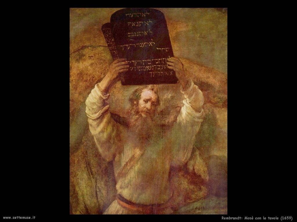 Rembrandt _Mosè_1659