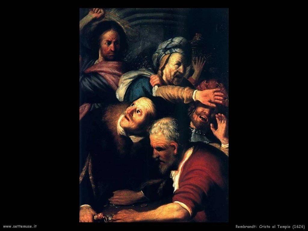 Rembrandt _Cristo_al_tempio_1626